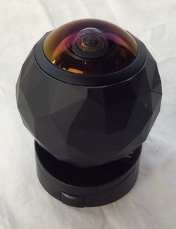 "360 HD video camera. ""360 Fly"""