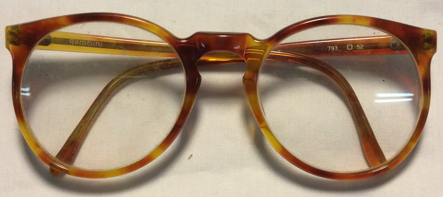 Gambini Thin tortoise shell marbled