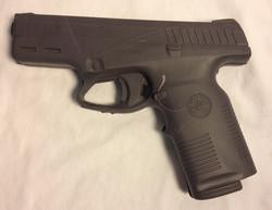 Steyr M9 grey silcone handgun