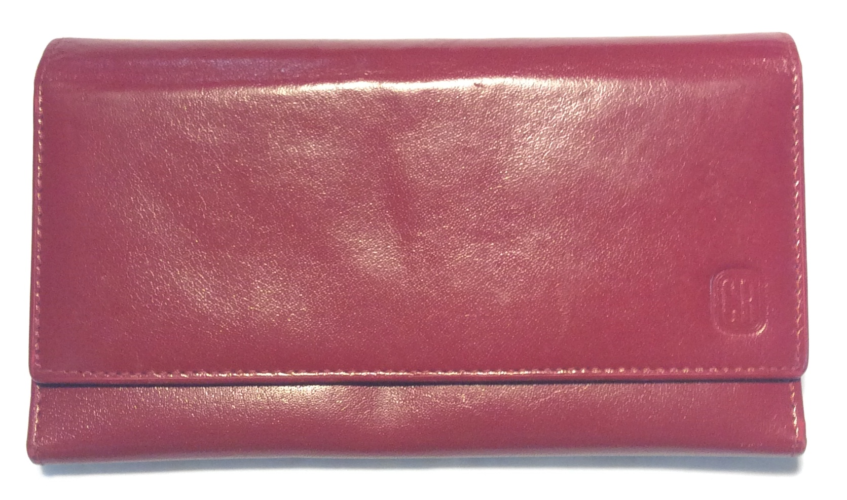 Club Rochelier Red leather wallet