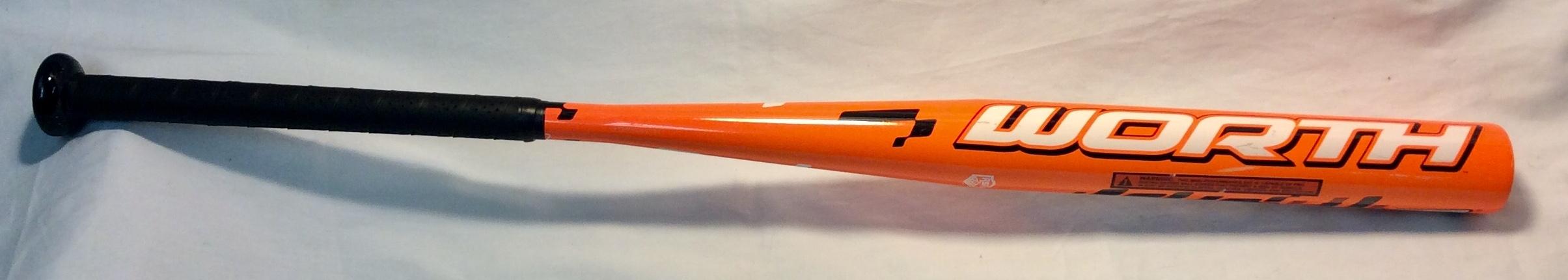 Orange Aluminum Baseball Bats