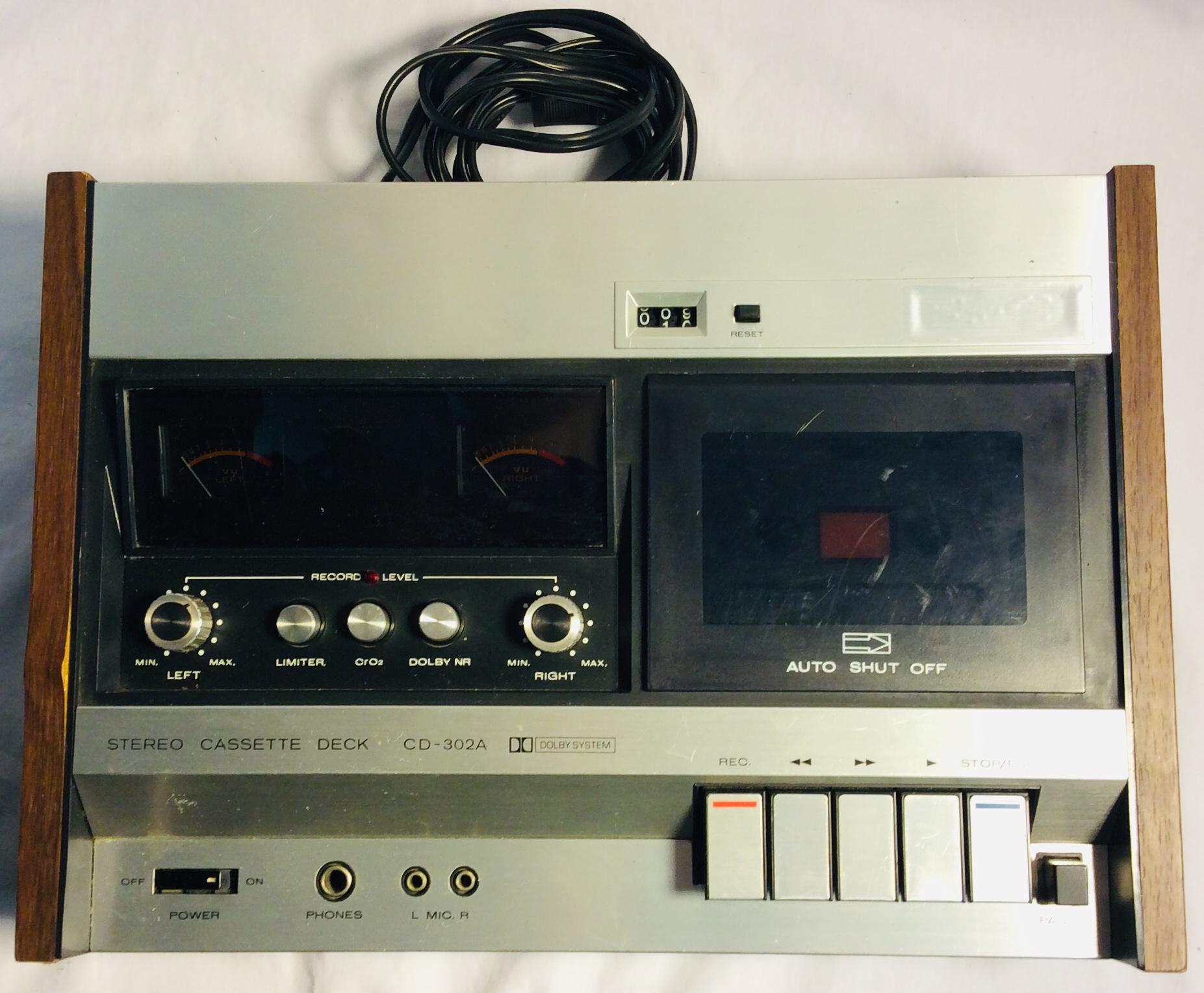 Cassette Deck recorder