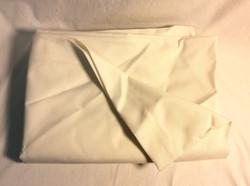Oversize white canvas laundry bag