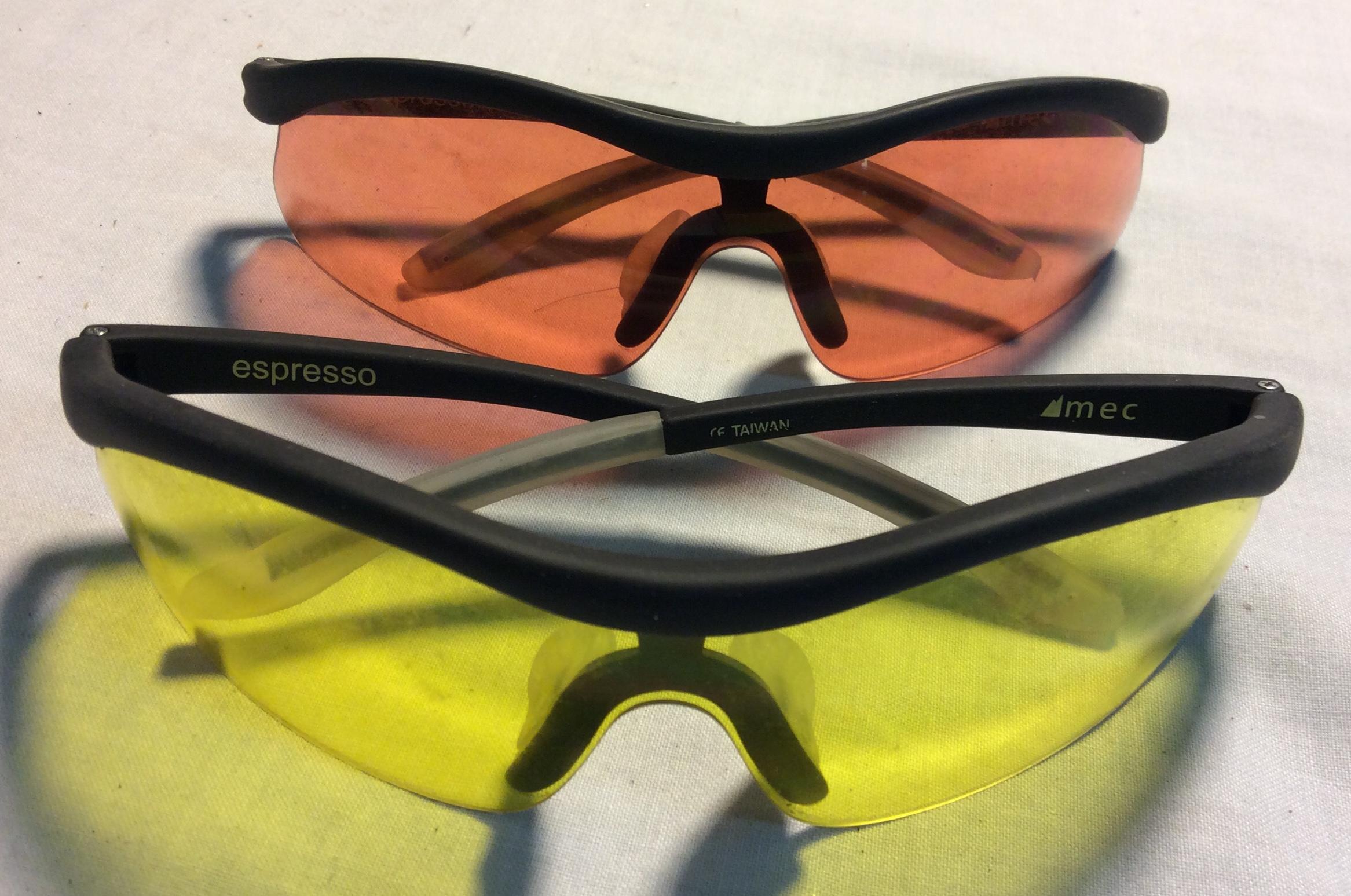 MEC Espresso Glasses