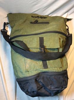 Old Green Gym Bag