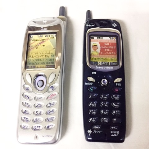 Digital Screen Cell Phones