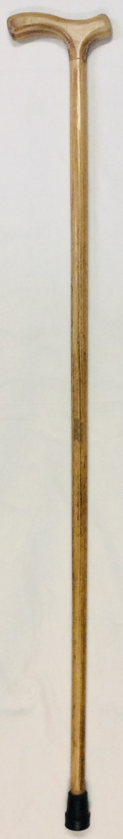 Old light brown wood fritz cane