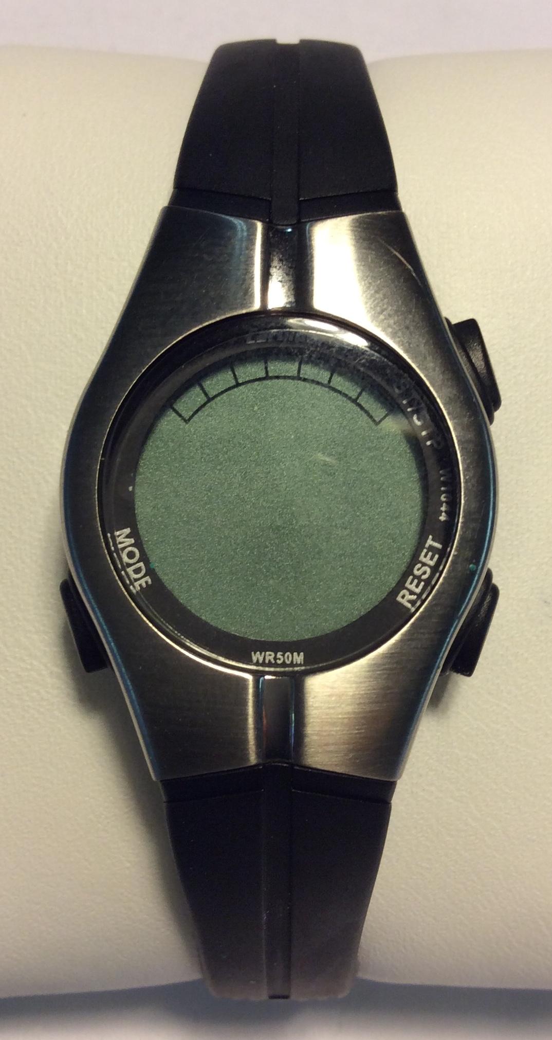 Cardinal watch - round digital face