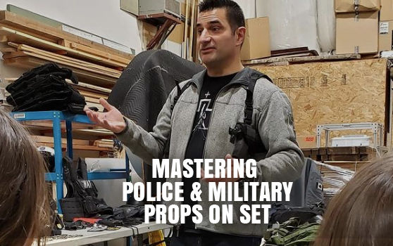 Mastering Police and Military Props