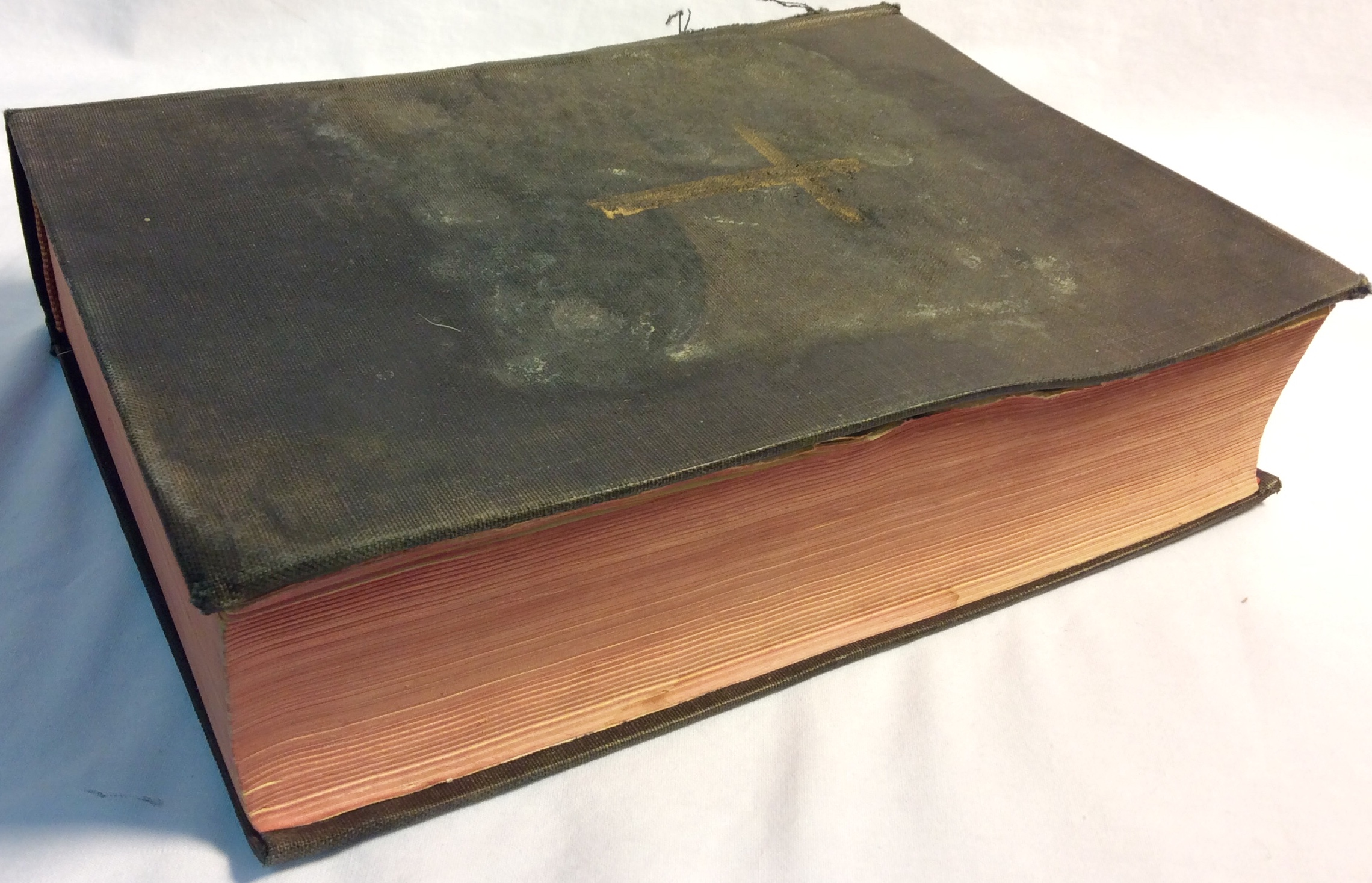 Aged holy bible