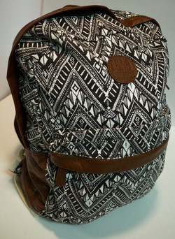 Patterned Backpack
