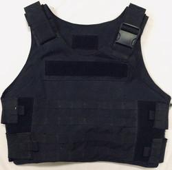Black torso plate carrier