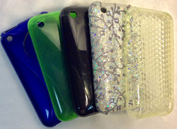 Assorted iPhone 3 cases