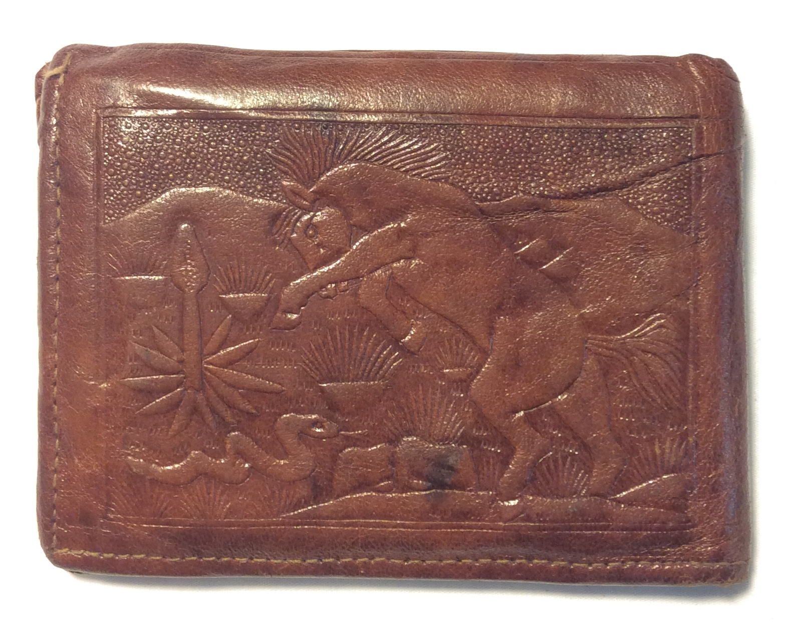 Made in Mexico Dark brown leather