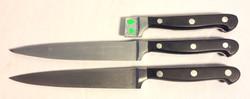 Henckel black & silver knife