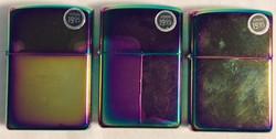 Mirror-polished zippo lighter