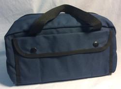 Small blue bag
