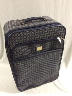 Blue/Grey Pattern Luggage