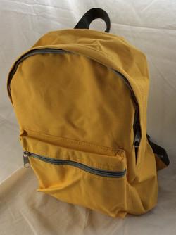 Yellow school bag