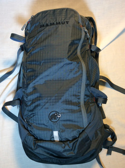 Blue Mammut backpack