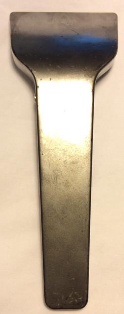 Silver metal scanner/card reader