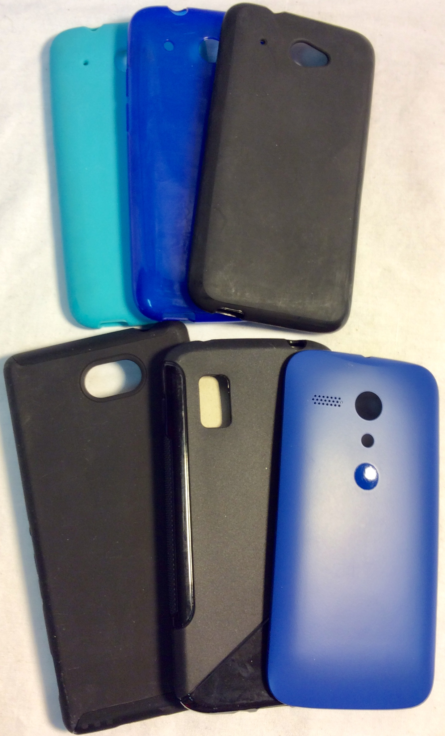 Assorted phone cases for Sony, Motorola, LG, HTC