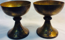 Holy Graal golden chalice