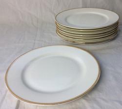 Gold rimmed side plate set