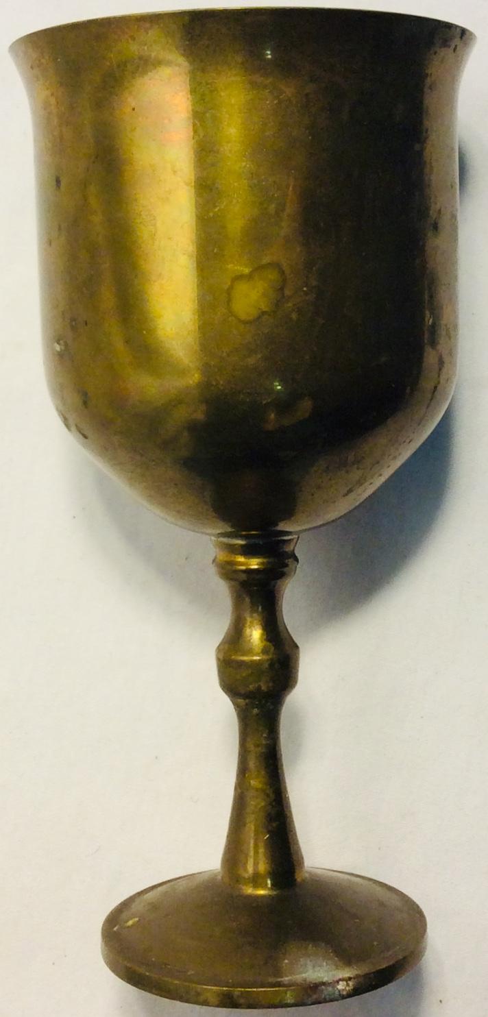 Small copper chalice
