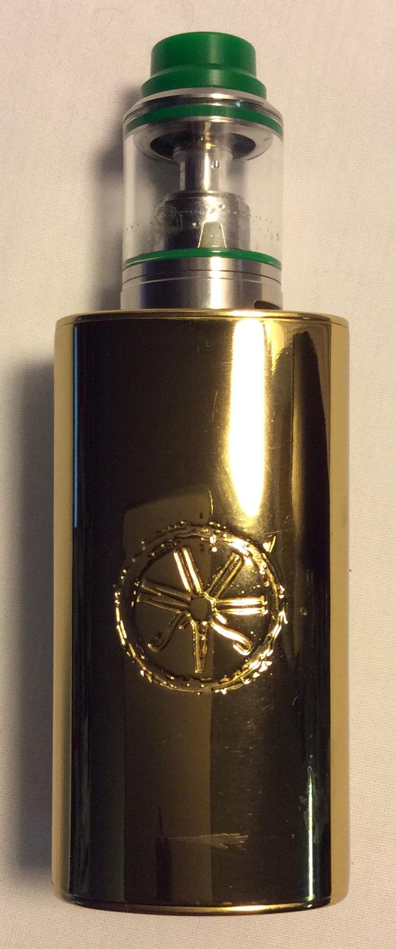 Asmodus Ohmie Vape tank: Gold base