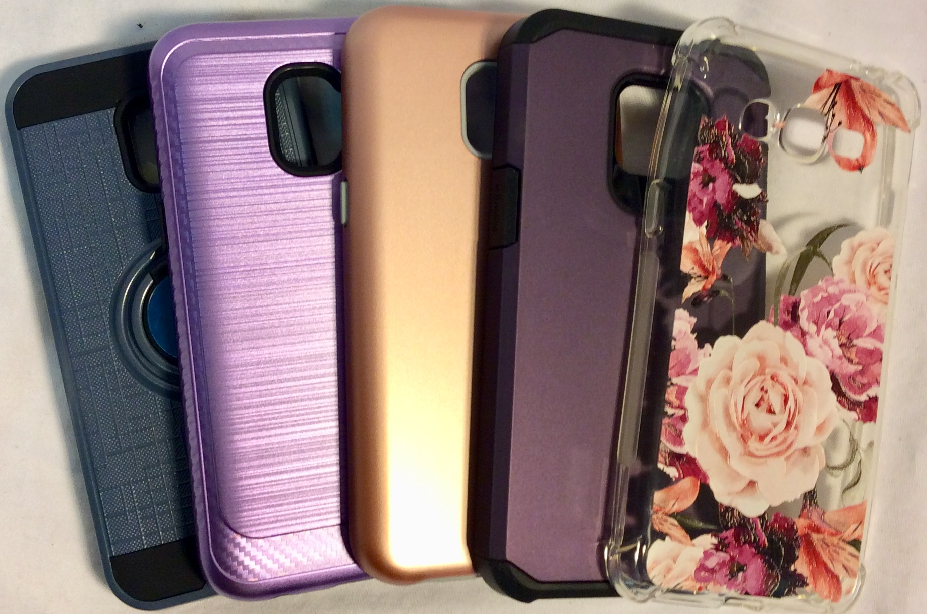 Assorted Samsung Galaxy J2 cases