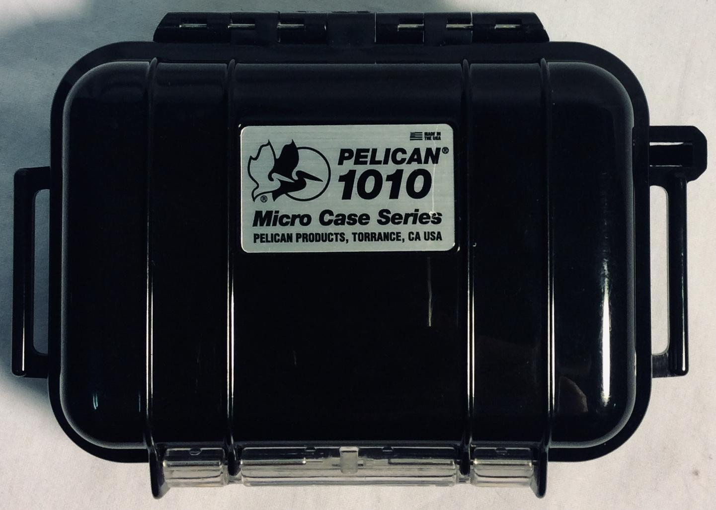 Small black pelican case