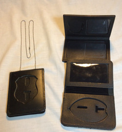 Police Badge and ID Holder