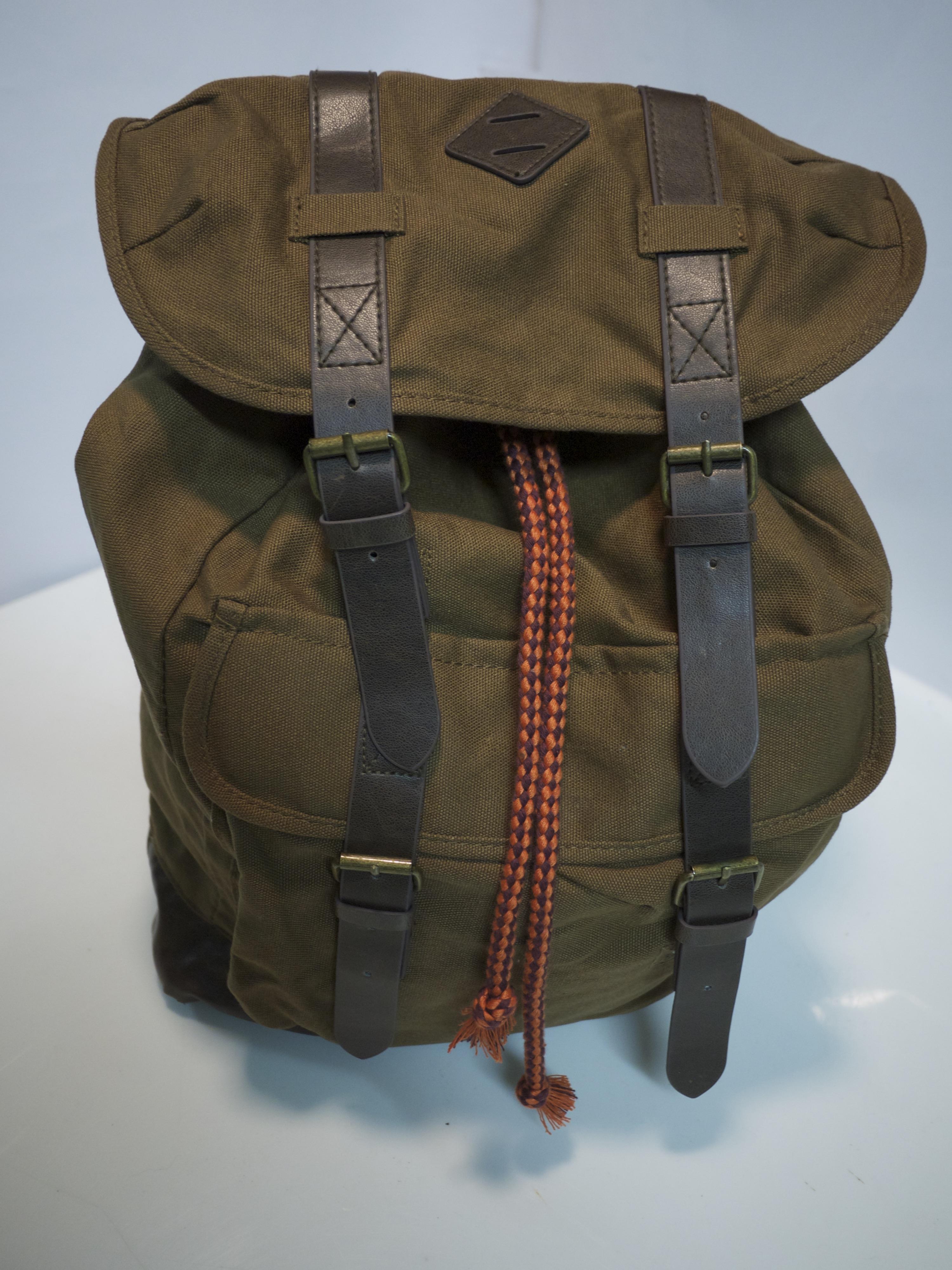Knapsack backpack