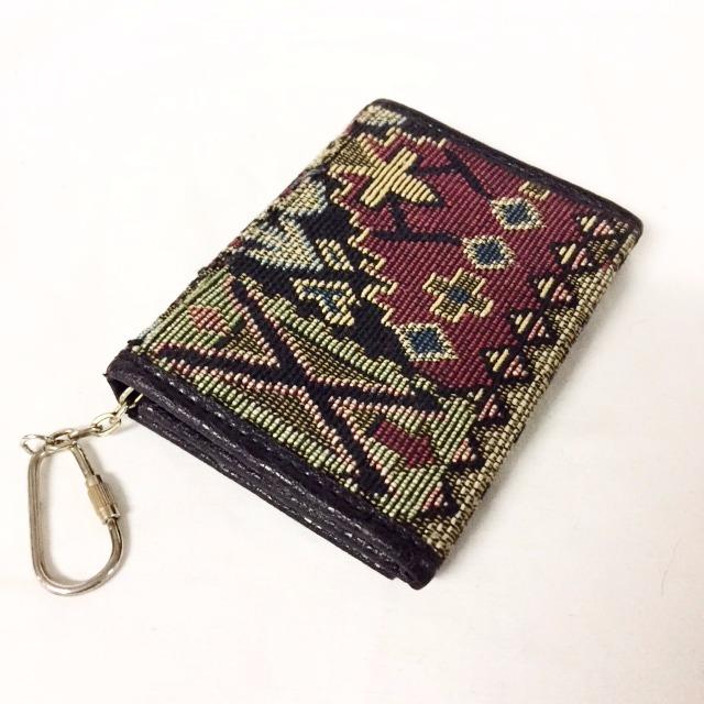 Woven Patterned Wallet