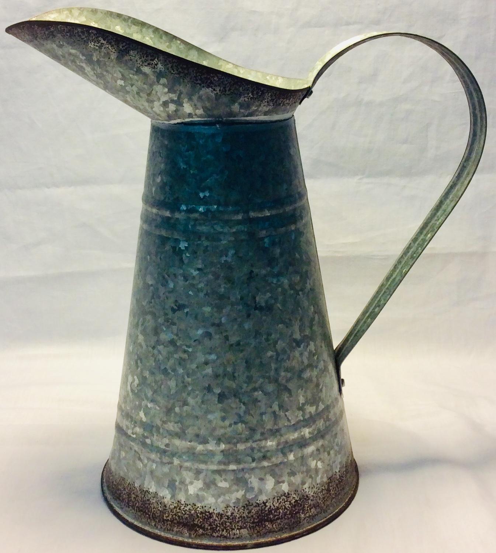 Tin water jug