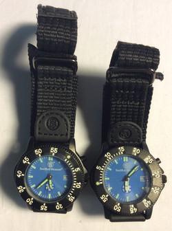 Smith & Wessen watch - round blue