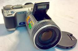 Sony DSCF707 Cyber-Shot 5MP Digital Still Camera w/ Optical Zoom