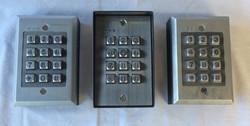 Wall mountable keypads with functional lights. Customizable.