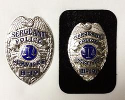Sergeant/ Police Badges