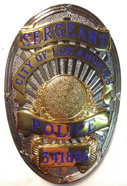 Smith & Warren Silver metal badges
