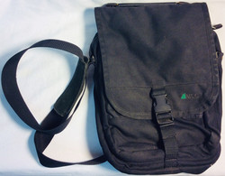 MEC Small black fabric shoulder bag