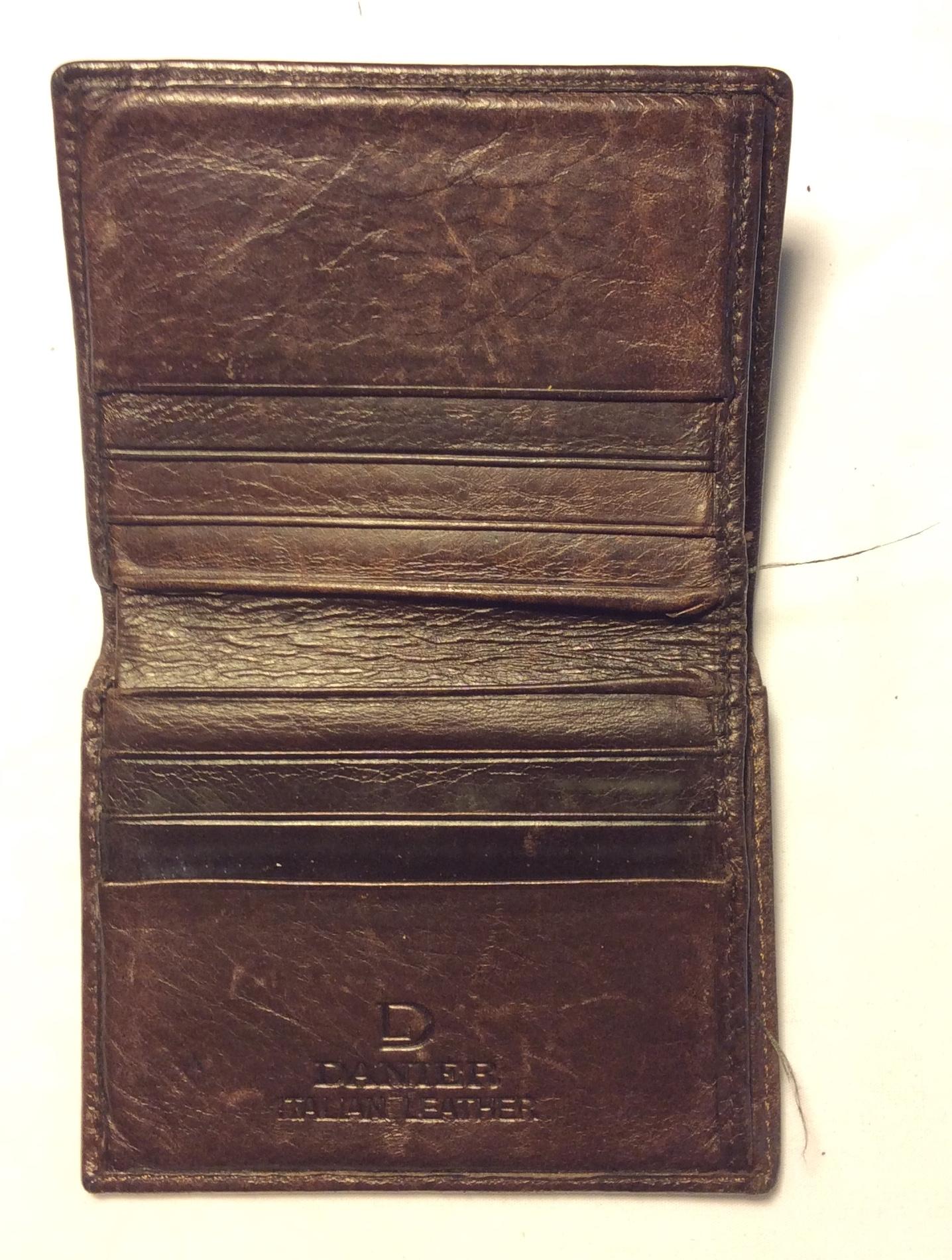 Danier Dark brown leather