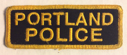 Portland Police Velcro Patches