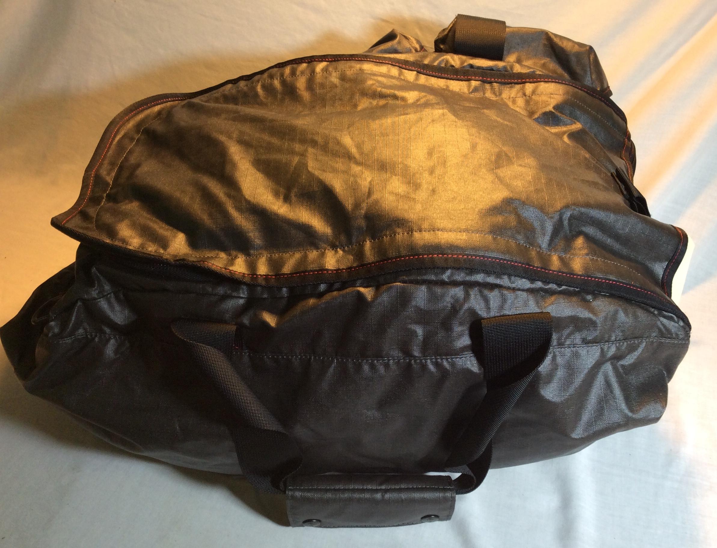 Waterproof Black Duffel Bag