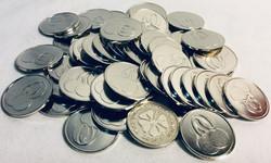 Box of casino silver coins