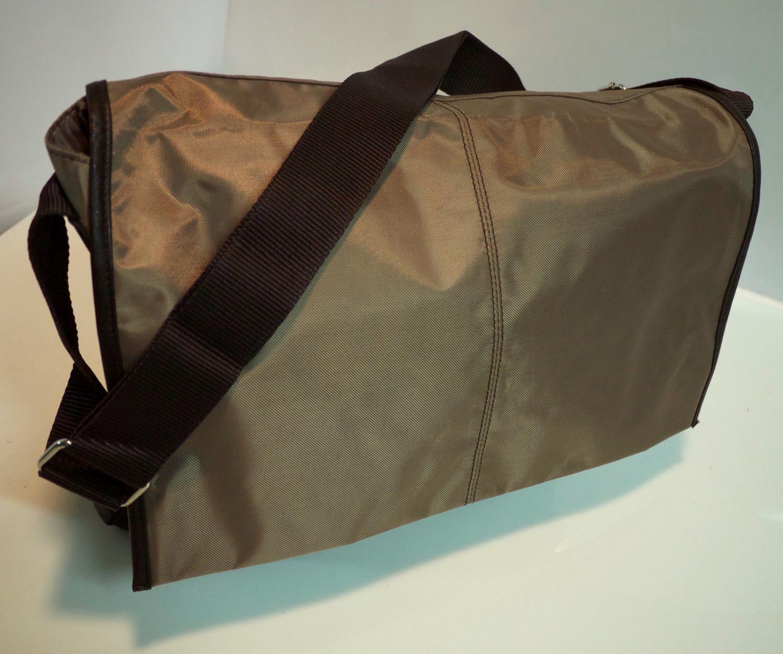 Bronze shoulder bag (Calvin Klein)