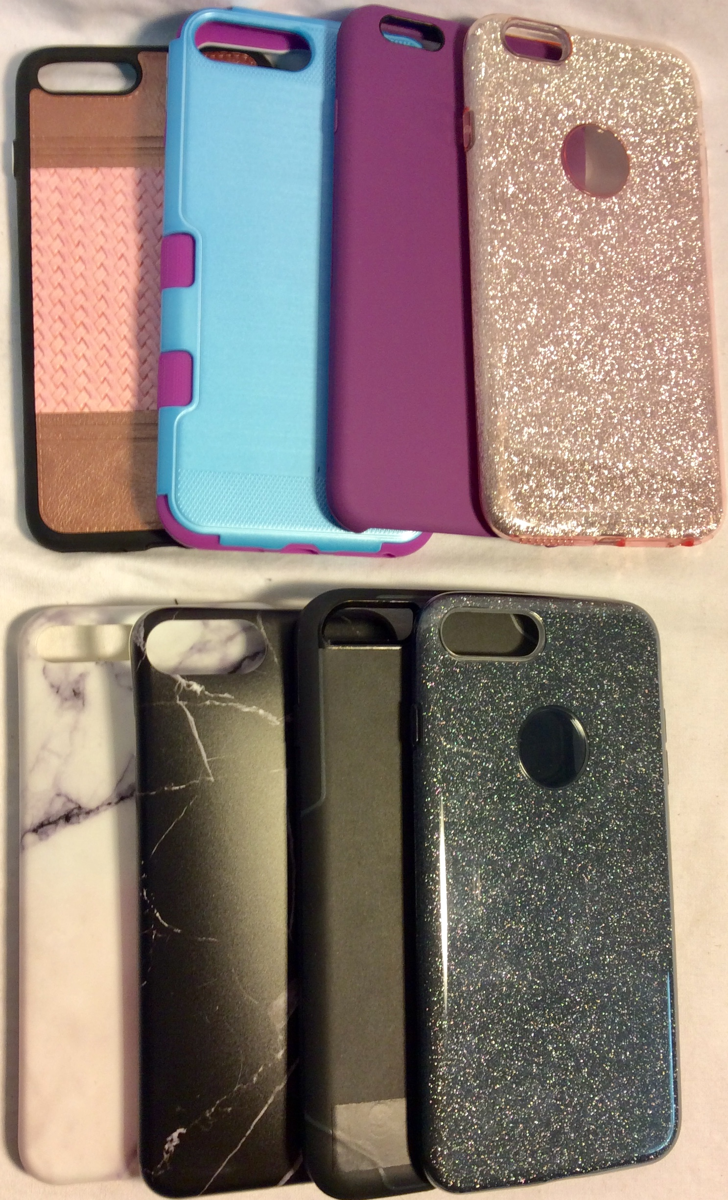 Assorted iPhone 6+ cases