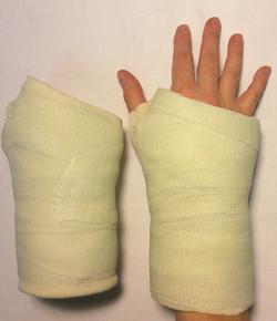 Wrist cast - adult size