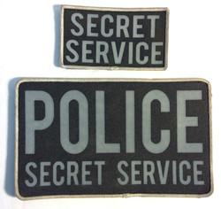 Secret Service Velcro Patches